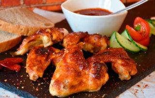 receta de alitas de pollo de corral al horno - Carnicería los Madriles