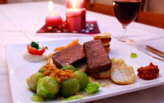 Maridaje de carne y vino